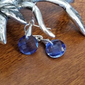 Jewelry - Iolite and sterling silver earrings